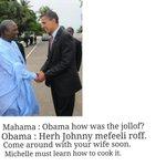 2. After tasting Ghanaian Jollof http://t.co/mknBdkzzoG