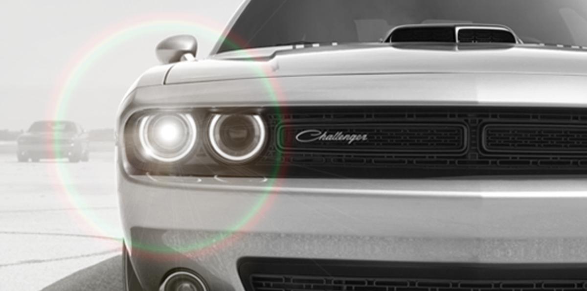 Nuestros faros delanteros son todo un fenómeno natural. #DodgeChallenger #HaloSolar http://t.co/mRHTgGqJnu