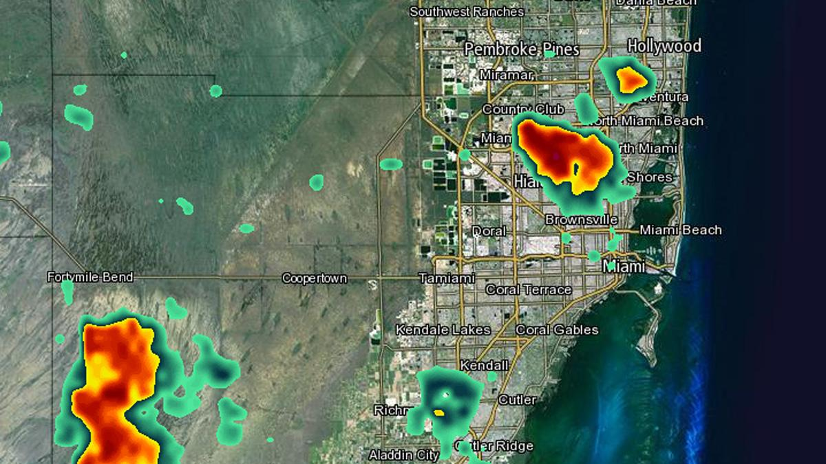 Track South Florida Storms With Nbc 6 S Interactive Weather Radar