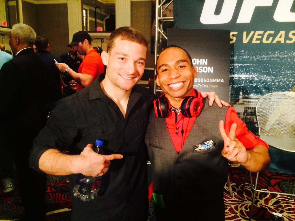 #UFC187 Friendponents @ufc #media http://t.co/kemkacGHiK