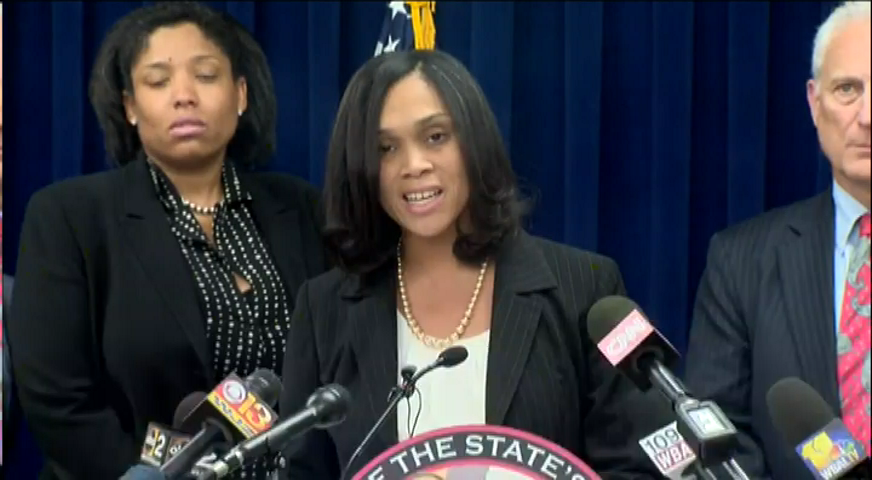 JUST IN: Baltimore State's Attorney announces grand jury has indicted all 6 police officers in death of #FreddieGray
