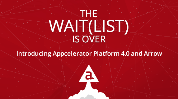 The Wait(list) is Over: Appcelerator Platform 4.0 and Arrow are Open to All! http://t.co/Tn93mRAnmF #mobile http://t.co/w7sElkXBY6