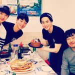 "#EXO's #Suho Celebrates His Birthday with Cast of His New Movie ""#GloryDay"" http://t.co/e7tLzomzTx http://t.co/virYX8YObJ"