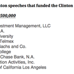 Hillary Clinton gave 9 previously undisclosed paid speeches for more than $250K benefitting the Clinton Foundation: http://t.co/p60iR4SJFV