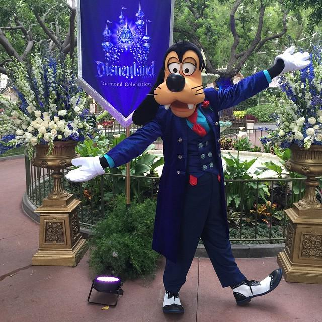 Goofy is proud of his place! #Disneyland60 http://t.co/GCUFt3TIfk