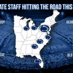 @PennStateFball hitting the road hard this summer #WeAre #dominate http://t.co/VDiKpEoYTS