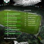 ¡Nuestro XI #Guerrero! #Yo5íCreo http://t.co/1AQRpPJESH
