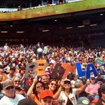 Headed to the 9th, #SFGiants lead 4-0 #BeatLA http://t.co/CCbc1PwFfV