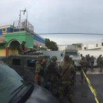 Militares registran como hora de la detonación las 18:10 a las afueras del @INEMexico Distrito 04 #Matamoros http://t.co/wJhyOofe9X