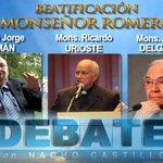 Testimonio de la humanidad y lo pastoral de #MonsenorRomero en @DebateconNacho con amigos y colaboradores cercanos http://t.co/S6qF8Ak1w6