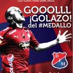 Goooooool golaaazo del #ROJO, Carlitos Valencia empata las acciones #DIMRadio1440AM #JuniorvsDIM 1-1. 60 minutos. http://t.co/M84CspJwXQ