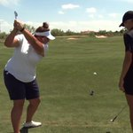"""@GolfChannel: @TexasTechWGolf impresses with a trick shot of their own: http://t.co/axLIFQyFNu http://t.co/5XY4Qht8o8"" #WreckEm Girls."