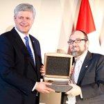 Honoured to receive the King David Award tonight in Montreal. http://t.co/SsMWeRM2C2