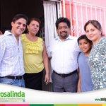 Agradable encuentro en Gaviotas Norte @Amigarosalinda con el periodista @jorgedelacruz99 y su bonita familia. http://t.co/JiIh5HegHI