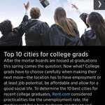 Cincinnati named a top 10 city for college grads by @CNBC http://t.co/GliNAaEAB1 http://t.co/TtMcqYroOa