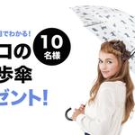 【きょう22日スタート!】 梅雨間近★黒ネコのお散歩傘プレゼント★ http://t.co/YwBROb1o0t @livedoornewsをフォロー&RTで雨の日だけ出会える黒ネコの傘が当たる♪ http://t.co/ZdeDPj7M6E