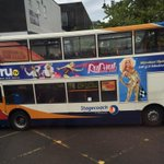 @RuPaul all over the buses in Newcastle! Remember who has the queens in the toon @ShadeNewcastle #shadybitch http://t.co/1OpXMtoTzl