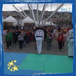 Nellarea Stelle nello Sport si inaugura la festa con la Scuola Taekwondo Genova #FestaSport15 #fotostellenellosport http://t.co/hDDbktL5Jf
