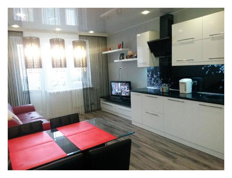 Кухня гостиная 14 метров дизайн фото