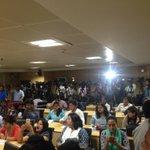 Media waiting for CM @ArvindKejriwal who will make statement on MHAs notification.http://t.co/xX3ZdJ2o17 #ModiMurdersDemocracy