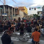Rally in the streets following #OlympiaShooting, via @NSwabyKing5 - http://t.co/62kWuaRskV http://t.co/w5Xk26Dhlr