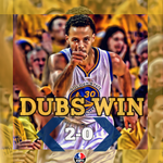 Warriors take a 2-0 series lead. Steph Curry has 33 Pts to lead Warriors over Rockets, 99-98. Harden has 38 Pts. http://t.co/LYLsn9LJAW