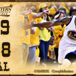 Dubs take Game 2, lead the series 2-0. #StrengthInNumbers http://t.co/Rdo4K6lHFh