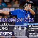 Your game winning box score. Shuckers win their 5th in-a-row and are 25-16 on the year! http://t.co/ioNvvr78jI http://t.co/oLHIIo3Q3r