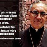 #ELSALVADOR | Miles de fieles rendirán honores a Monseñor Romero http://t.co/kQM234mD49 #RomeroVive http://t.co/FZsKbq0Zpu