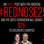 Dont Forget! Were donating $25 for every #RedNose photo hashtagged with #RedNose25. Info: http://t.co/fv31lhxuoi http://t.co/wxBlAawDOJ