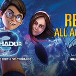 #3Bahadur is out in cinemas across #Pakistan today! Dont miss out on history in the making! http://t.co/GxG2S3yjkF http://t.co/YO5TnuJHRX
