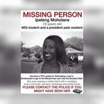 Could you please help us find her and spread the word. She was last seen on  Saturday in PTA in the evening. #Ipeleng http://t.co/oUJGD4CQLk