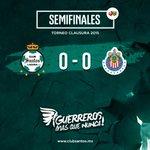 90+3 Termina la Semifinal de Ida en el #EstadioCorona. | SAN 0-0 CHI #Yo5íCreo http://t.co/ElDdxD85PC