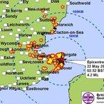 Earthquake of 4.2 magnitude strikes Kent coast http://t.co/V03cx7wODv #KentEarthquake http://t.co/pU6wgepSAf