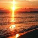 Pools of sunset light. #seattle sunset #water http://t.co/BugOSbXKA8