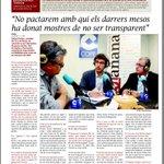 """Entrevista @LaManyanacat a .@antonipostius """"No pactaren amb qui ha donat mostres de no ser transparent"""" #LleidaEtsTu http://t.co/FmITr1WnaK"""