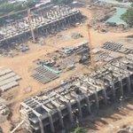 Vista aérea de la nueva casa del @ValleduparVFC; Así va el nuevo Estadio Armando Maestre Pavajeau @Valledupar http://t.co/oqjSG0crlw