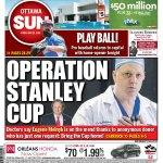 Our P1: Eugene Melnyks anonymous liver donor sends message: GO WIN A CUP! http://t.co/ZiTxrjPKkL #ottnews http://t.co/sF7WhNQlxy