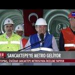"""Başkan Topbaş, """"Üsküdar-Ümraniye-Çekmeköy-Sancaktepe"""" Metrosunda inceleme yapıyor. CANLI - http://t.co/T0wOnr8IuE http://t.co/87p2exYoFh"""
