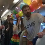 Irish people abroad are heading #HomeToVote for same-sex marriage #VoteYes http://t.co/OETz5VSb4I http://t.co/8hAQMpR77f