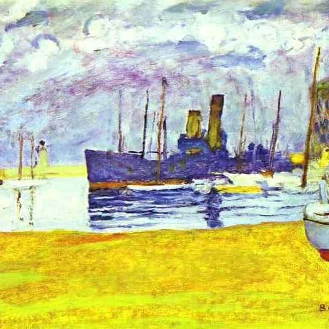"""The Port of Cannes"" by Pierre Bonnard via @dailyartapp - your daily dose of art | www.get… http://t.co/8ai6P9ljEy http://t.co/CImTJ3iAbM"