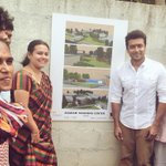 Thanks to #tapasya design studio auroville for the outstanding design and Agaram students support! http://t.co/ii7Uu8aNrk