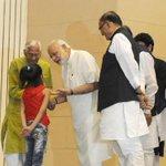 PM Shri @narendramodi at Golden Jubilee celebrations of the works of Rashtrakavi Ramdhari Singh Dinkar, in New Delhi http://t.co/3l3FOgC7hr
