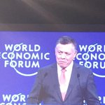 His Majesty thanking everyone for coming to the #Jordanwef #Wef #Jordan #Mena15 http://t.co/LRCnds3Kzj