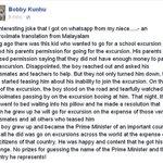 The Boy who could not go to School Excursion. #Modireturnstoindia #Modi365 #Modigoingabroad #Modiforiegntrips http://t.co/nneKAyzbx6