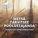 Kaikissa sivistysmaissa on #ympäristöministeriö. Allekirjoita: http://t.co/ST2cNF6OFW #hallitusneuvottelut http://t.co/Rakx6nawOb