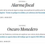 La doble vara de @elpais_espana   Busca las 7 diferencias entre estos dos editoriales de El País: http://t.co/9oe37OY26o Vía: @gerardotc