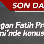 Cumhurbaşkanı Erdoğan konuşuyor http://t.co/qKAX9BfxTe http://t.co/wOgI2mzwsy