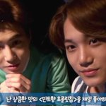 EXO-K release funny behind-the-scenes interview of Suho and Kai for Baskin Robbins http://t.co/KefRUD18fF http://t.co/noV7WqarP0