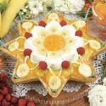 キルフェボンからバナナ&アプリコットの新作が限定発売 -「ソラカラちゃん」をイメージした、東京ソラマチ3周年記念タルト http://t.co/9M9Pw6WeI2 http://t.co/yIDEmviCSz